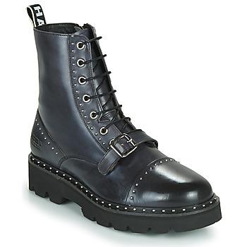 Shoes Women Mid boots Melvin & Hamilton WINSLET Black