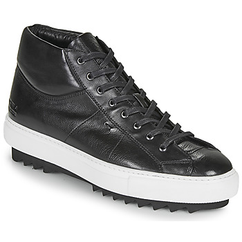 Shoes Men Low top trainers Melvin & Hamilton MICK Black