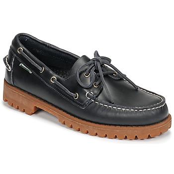 Shoes Men Boat shoes Sebago RANGERWAXY Blue