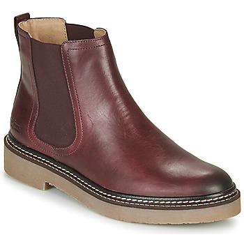 Shoes Women Mid boots Kickers OXFORDCHIC Red