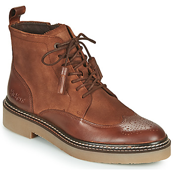 Shoes Women Mid boots Kickers OXANYHIGH Brown