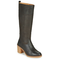 Shoes Women Boots Kickers AVERNO Brown / Dark