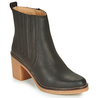 Shoes Women Mid boots Kickers AVERNY Brown / Dark
