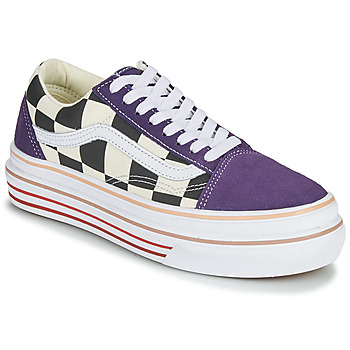 Shoes Women Low top trainers Vans SUPER COMFYCUSH OLD SKOOL Violet