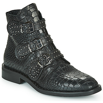 Shoes Women Mid boots Mimmu JUDITHE Black