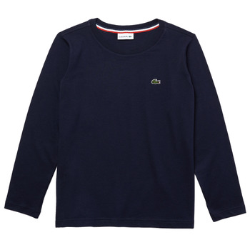 material Boy Long sleeved shirts Lacoste TJ2093-166-B Marine