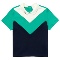 material Boy short-sleeved polo shirts Lacoste DJ1427-EG4-C Multicolour