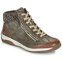 Shoes Women Mid boots Rieker L5223-24 Brown