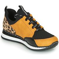 Shoes Women Low top trainers Rieker N3083-68 Cognac / Black