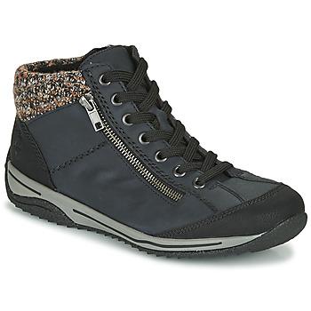 Shoes Women Mid boots Rieker  Blue