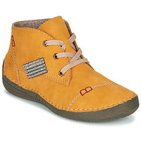 Shoes Women Mid boots Rieker 52543-69 Yellow
