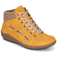 Shoes Women Mid boots Rieker  Yellow