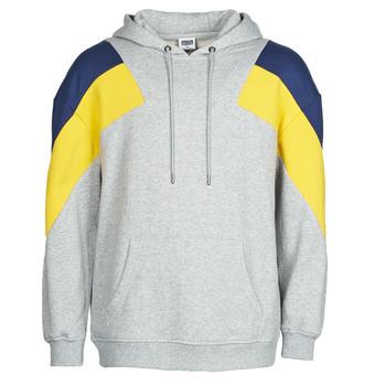material Men sweaters Urban Classics TB2402 Grey / Blue