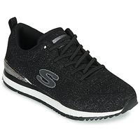 Shoes Women Low top trainers Skechers SUNLITE Black