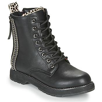 Shoes Women Mid boots Café Noir JAYTE Black