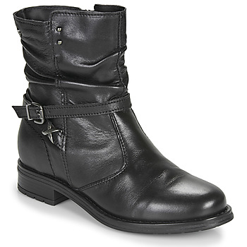Shoes Women Mid boots Tamaris PORENO Black