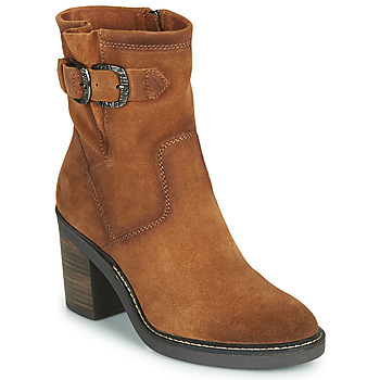 Shoes Women Ankle boots Tamaris AZZURRA Brown