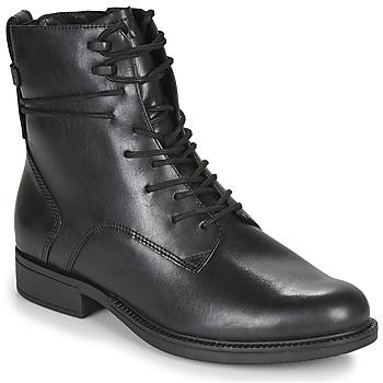 Shoes Women Mid boots Tamaris SUZAN Black