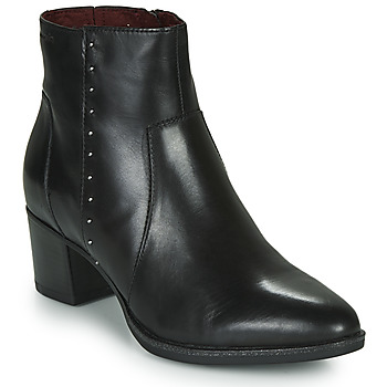 Shoes Women Ankle boots Tamaris THEA Black