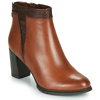 Shoes Women Ankle boots Tamaris FEELINA Brown
