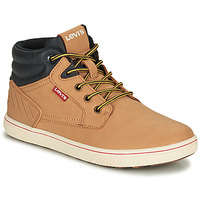 Shoes Children High top trainers Levi's NEW PORTLAND Camel