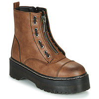 Shoes Women Mid boots Emmshu AVRIL Cognac