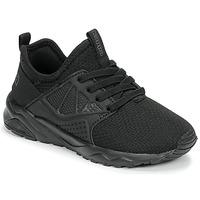 Shoes Children Low top trainers Kappa SAN DIEGO ELASTIC Black