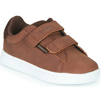 Shoes Boy Low top trainers Kappa TCHOURI 2V Brown
