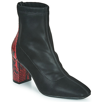 Shoes Women Ankle boots Gioseppo EGELN Black / Red