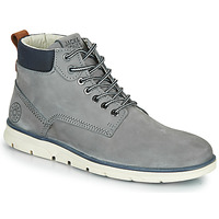Shoes Men Mid boots Jack & Jones JFW TUBAR NUBUCK Grey