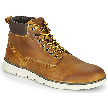 Shoes Men Mid boots Jack & Jones JFW TUBAR LEATHER Brown