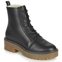 Shoes Women Mid boots Only BRANDY-6 LACE UP WINTER BOOT Black