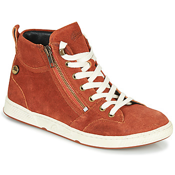 Shoes Women High top trainers Pataugas JULIA/CR F4F Brick