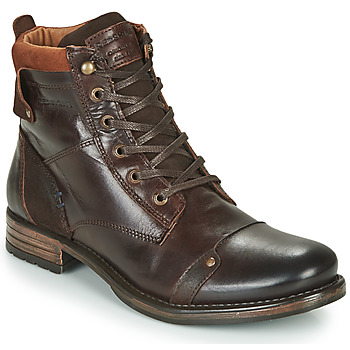 Shoes Men Mid boots Redskins YANI Brown