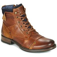 Shoes Men Mid boots Redskins YANI Cognac