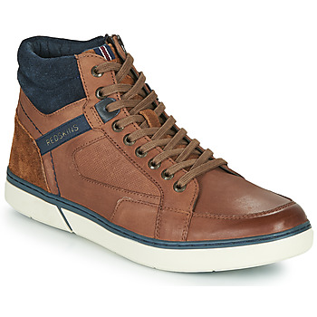 Shoes Men High top trainers Redskins ZOUK Brown