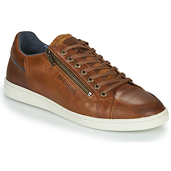 Shoes Men Low top trainers Redskins FICUSI Cognac