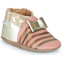 Shoes Girl Slippers Robeez SHINY BOW TIE Pink