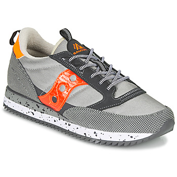 Shoes Low top trainers Saucony JAZZ (PEAK) Grey / Red / Orange