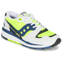 Shoes Men Low top trainers Saucony AZURA White / Yellow / Marine