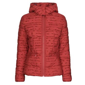 material Women Duffel coats Desigual NATASHA Red