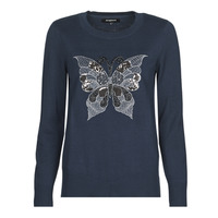 material Women jumpers Desigual BUTTERFLY Marine