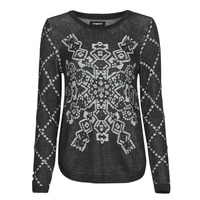material Women jumpers Desigual BUDAPEST Black