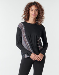 material Women Long sleeved shirts Desigual MARSELLA Marine