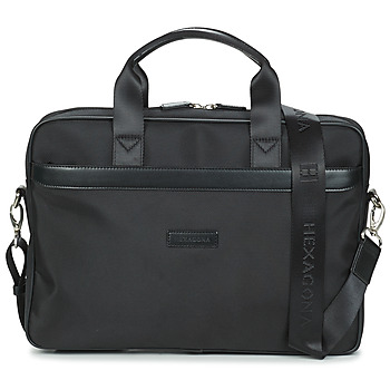 Bags Men Briefcases Hexagona WORKER Black