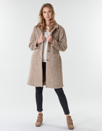 material Women coats Cream AMELIA COAT Beige