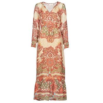 material Women Long Dresses Cream SANNIE DRESS Multicoloured