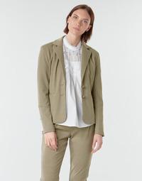 material Women Jackets / Blazers Cream ANETT BLAZER Beige