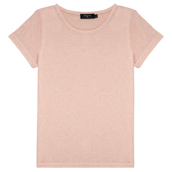 material Girl short-sleeved t-shirts Deeluxe GLITTER Pink