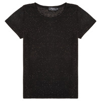 material Girl short-sleeved t-shirts Deeluxe GLITTER Black
